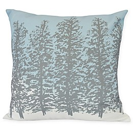 E by Design Hidden Forest Square Throw Pillow