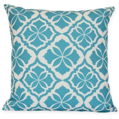 Ceylon Floral Square Throw Pillow