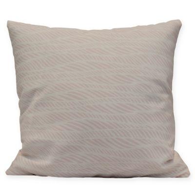 Chantelle Metallic Square Throw Pillow