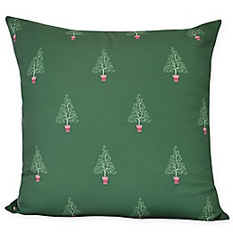 E by Design Filigree Forest Square Throw Pillow