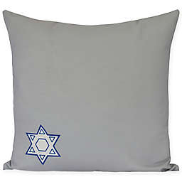 E by Design Star's Corner Square Throw Pillow