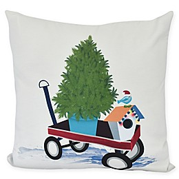 E by Design! Take Me Home Square Throw Pillow