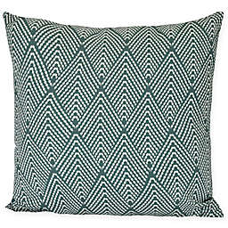 E by Design Lifeflor Square Throw Pillow in Green