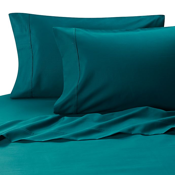 Alternate image 1 for MicroTouch King Sateen Sheet Set in Teal