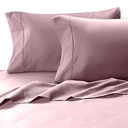MicroTouch Sateen 300-Thread-Count Queen Sheet Set in Lilac