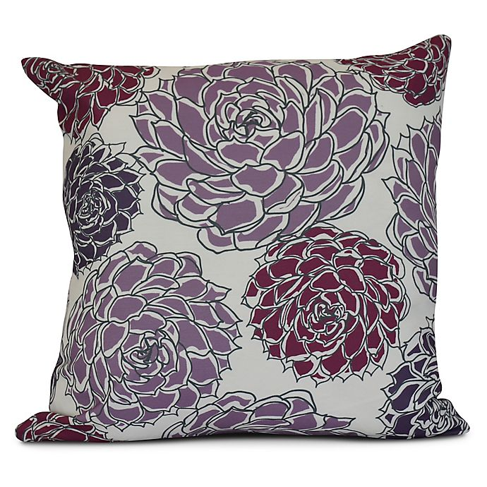 Alternate image 1 for Olivia Square Throw Pillow in Orange