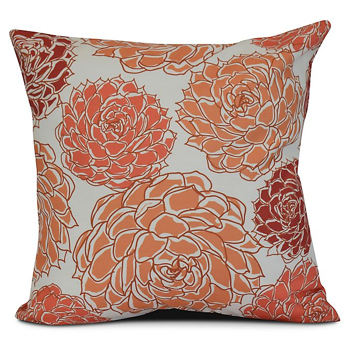 Alternate image 1 for Olivia Square Throw Pillow in Coral