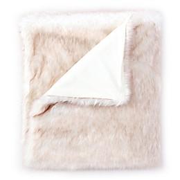 De Moocci® Faux Fur Tip Dye Throw Blanket