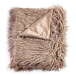 De Moocci® Mongolian Faux Fur Throw Blanket