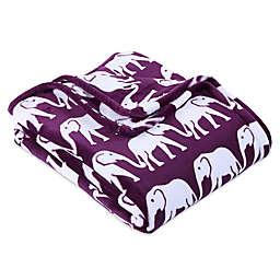 Berkshire Blanket® VelvetLoft® Elephant Throw Blanket
