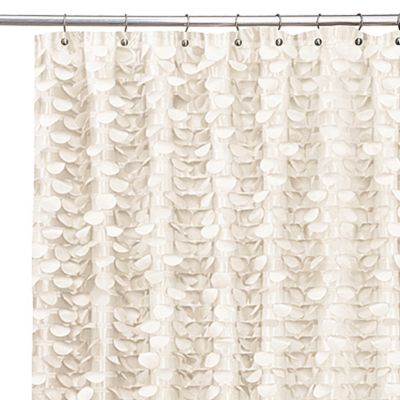 Gigi Ivory Shower Curtain