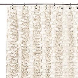 Gigi Ivory Shower Curtain