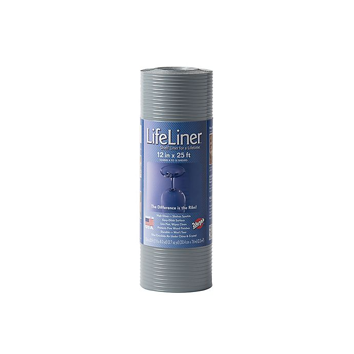 Warp Brothers Lifeliner 12 Inch X 25 Foot Non Adhesive Shelf Liner