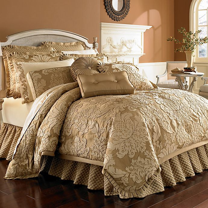 J Queen New York Contessa Comforter Set Bed Bath And Beyond Canada