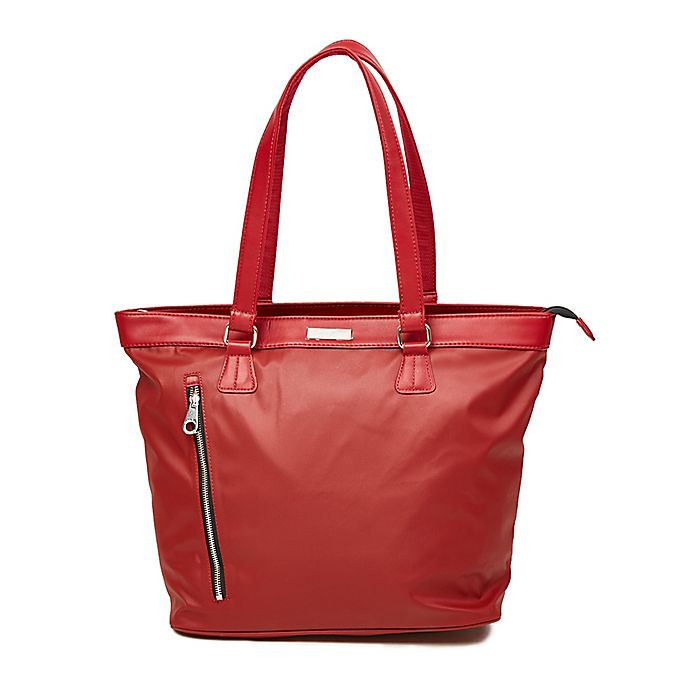 Alternate image 1 for Calvin Klein Lenox Hill Travel Tote in Red