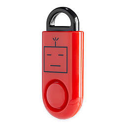 B A S U eAlarm Personal Emergency Smart Alarm in Red