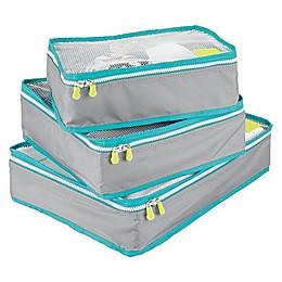 InterDesign® Packing Cubes (Set of 3)