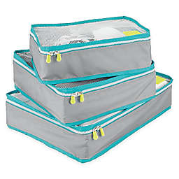 InterDesign® Packing Cubes (Set of 3)