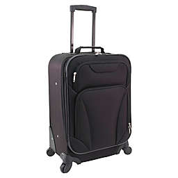 Mercury Luggage 20-Inch Spinner Carry On Luggage in Black