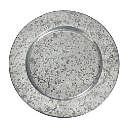 Mud Pie® Galvanized Tin Charger Plate
