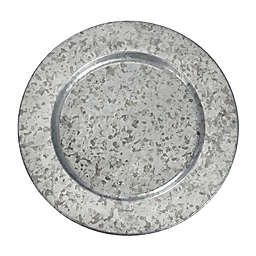 Galvanized Metal Charger Plates Bed Bath Beyond