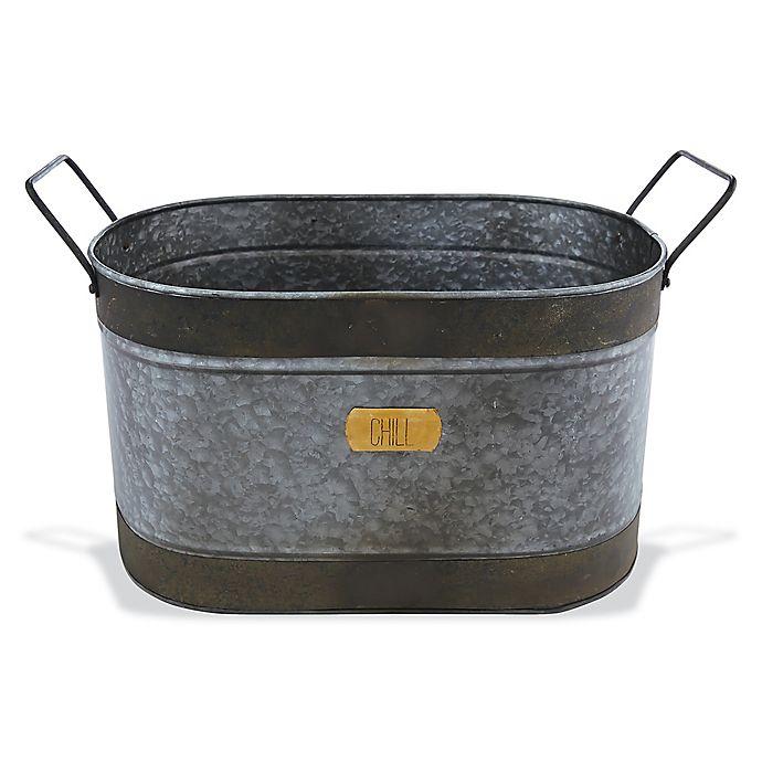 Mud Pie Chill Tin Beverage Tub