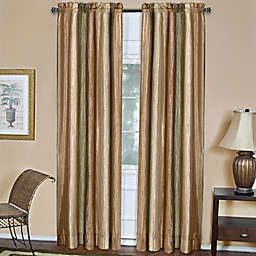 Ombre Rod Pocket Window Curtain Panel