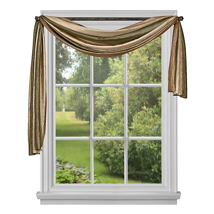 Ombre Window Scarf Bed Bath Beyond