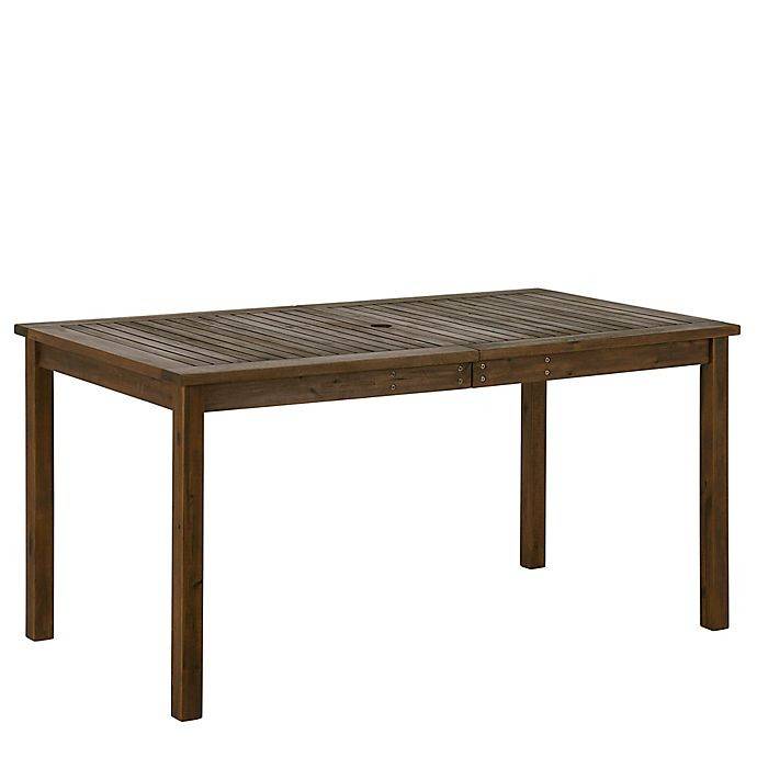 Alternate image 1 for Forest Gate Arvada Acacia Wood Outdoor Dining Table