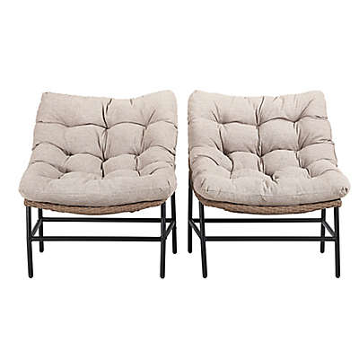 Forest Gate Rattan Scoop Patio Furniture Collection