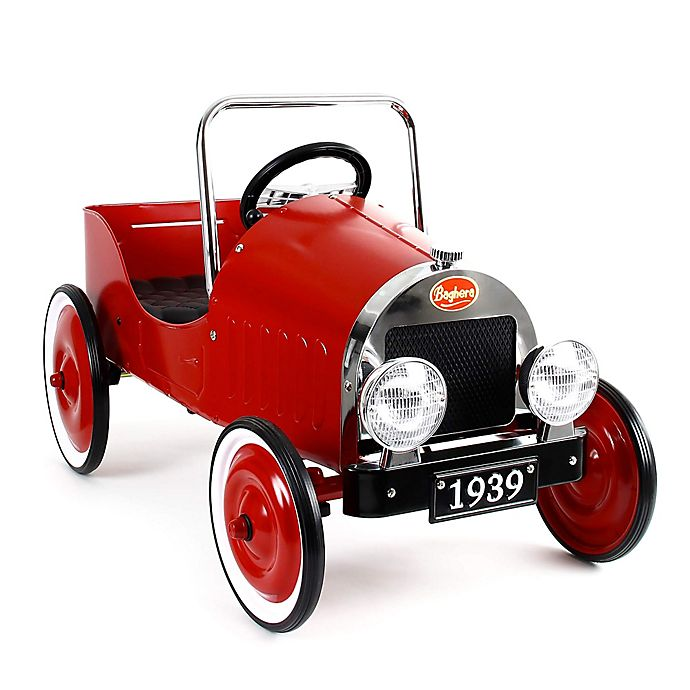 Alternate image 1 for Baghera Classic Metal Ride-On Pedal Car