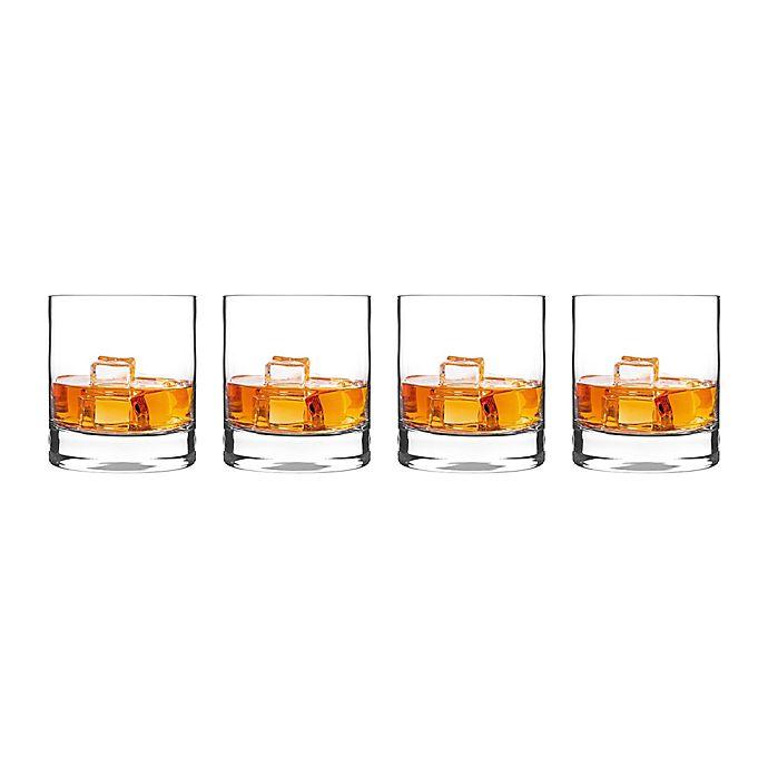 Alternate image 1 for Luigi Bormioli Classico SON.hyx® Double Old Fashioned Glasses (Set of 4)