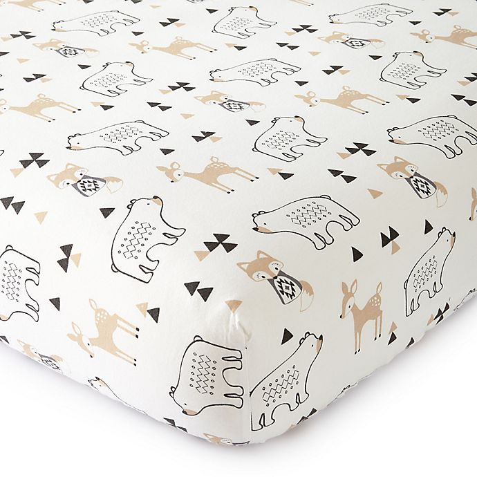 Alternate image 1 for Levtex Baby® Bailey Fitted Crib Sheet