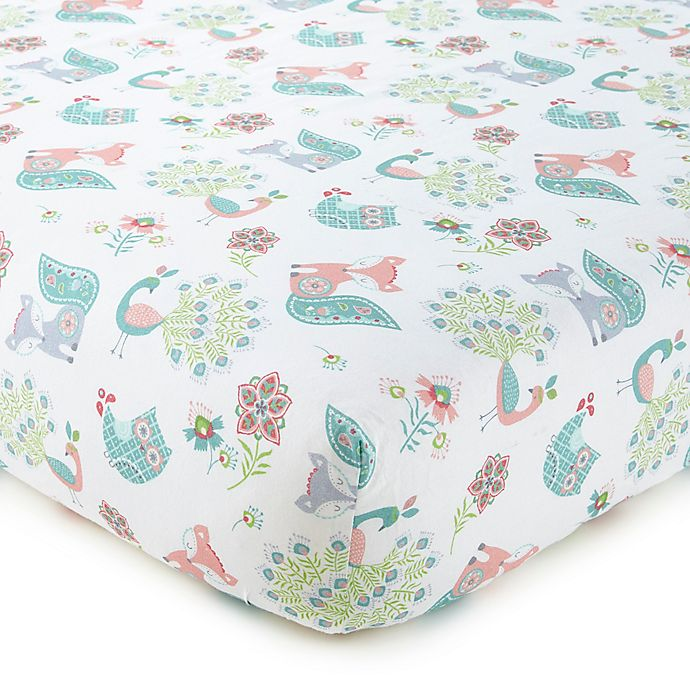 Alternate image 1 for Levtex Baby® Fiona Fitted Crib Sheet