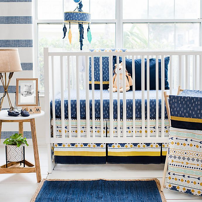 Alternate image 1 for My Baby Sam Desert Sky 3-Piece Crib Bedding Set