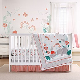 The Peanutshell™ Safari Love 3-Piece Crib Bedding Set