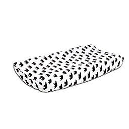 The Peanutshell™ Woodland Dreams Bear Print Velour Changing Pad Cover