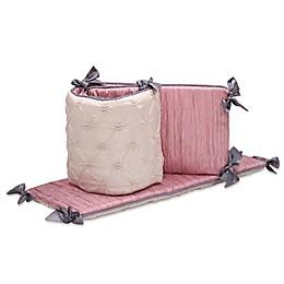The Peanutshell™ Bella 4-Piece Crib Bumper Set
