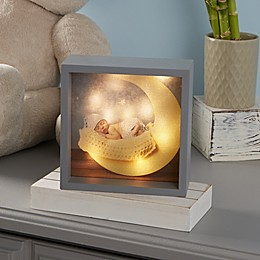Baby Photo LED Light Shadow Box