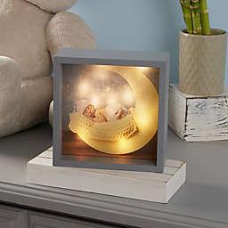 Baby Photo LED Light Shadow Box