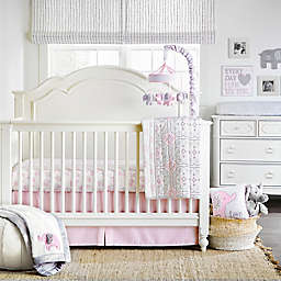 Wendy Bellissimo™ Elodie 4-Piece Crib Bedding Set in Pink/White
