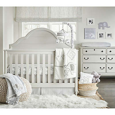 Wendy Bellissimo™ Hudson 4-Piece Crib Bedding Set in Grey/White