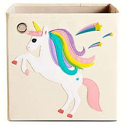 "kaikai & ash ""Unicorn Stars"" Kid's Storage Bin"