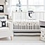 Part of the My Baby Sam Little Black Bear Crib Bedding Collection