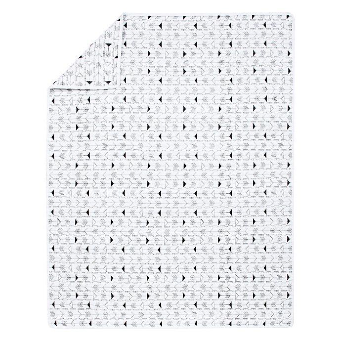 Alternate image 1 for Sammy & Lou Arrows Quilt in Black/White