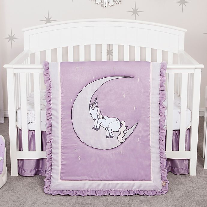 Alternate image 1 for Trend Lab® Unicorn Dreams 3-Piece Crib Bedding Set
