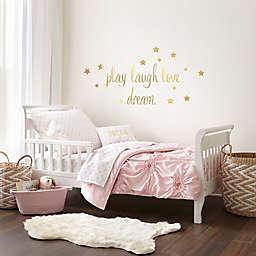 levtex baby willow 5 piece toddler bedding set in pink - Toddler Bedding