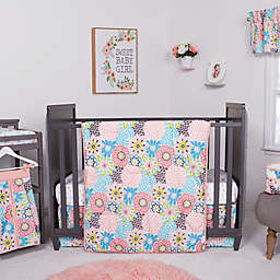 Waverly® Baby by Trend Lab® Blooms 5-Piece Crib Bedding Set