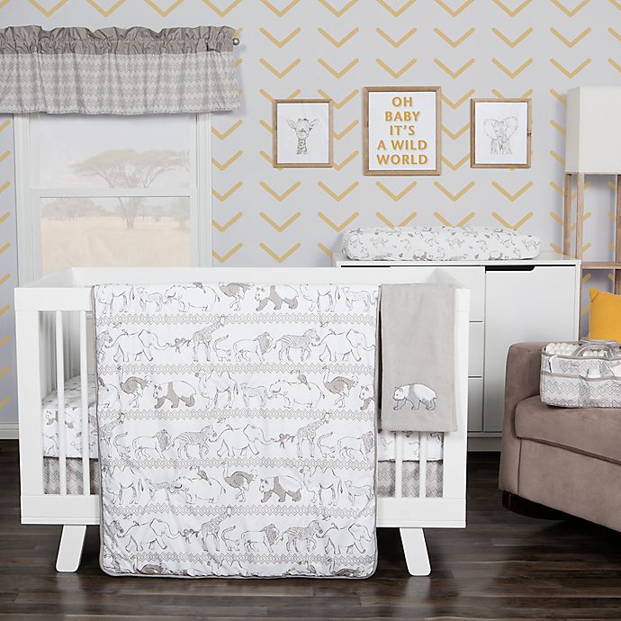 Alternate image 1 for Waverly® Baby by Trend Lab® Congo Line 5-Piece Crib Bedding Set