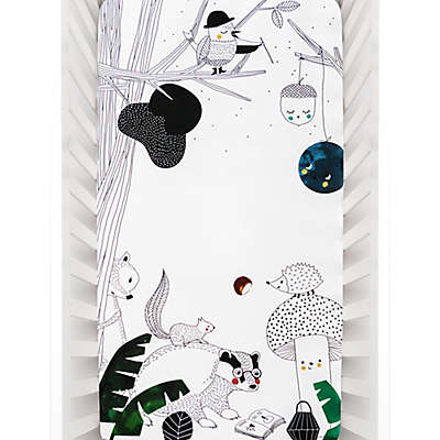 Rookie Humans Woodland Dreams Fitted Crib Sheet